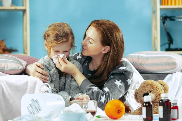 Mencegah Batuk Pilek Anak