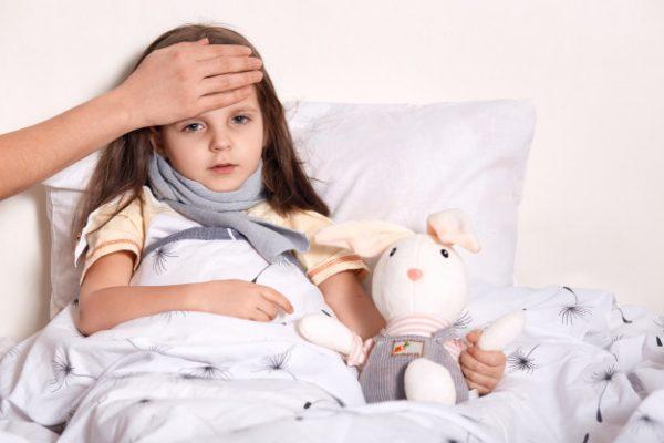 penyebab batuk pilek anak